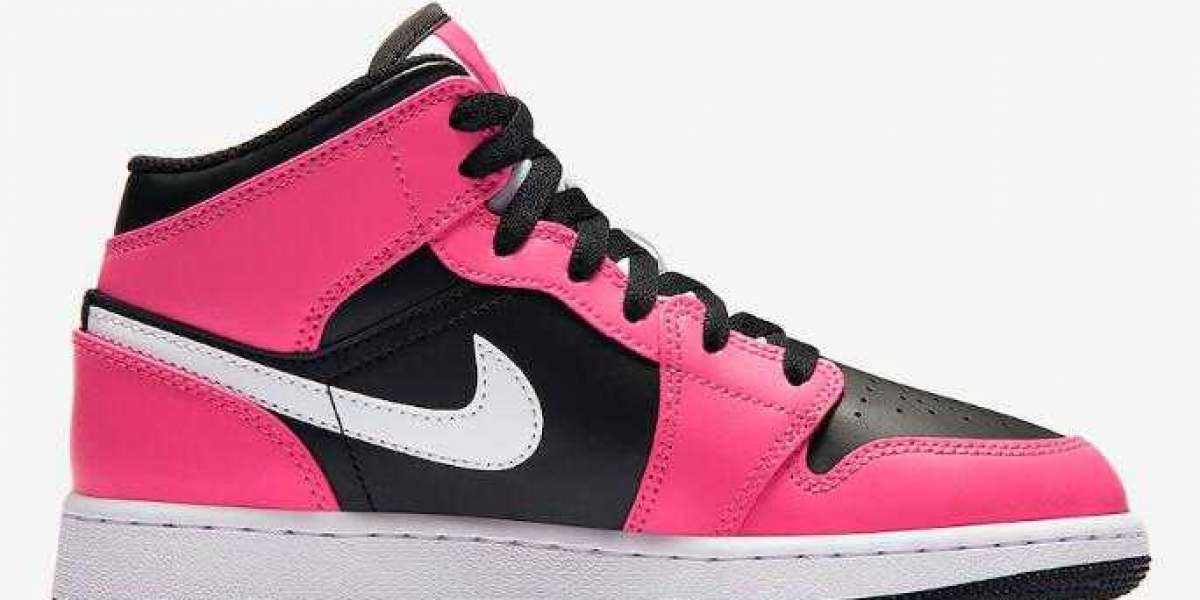 When Will the Air Jordan 1 Mid GS Pinksicle to Release?