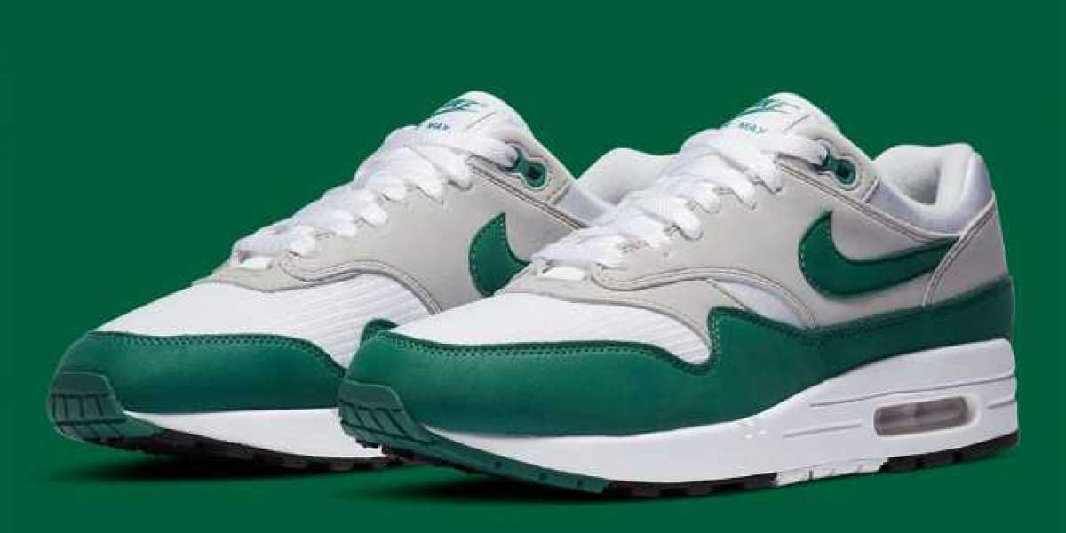 2020 Nike Air Max 1 Anniversary Hunter Green for Sale