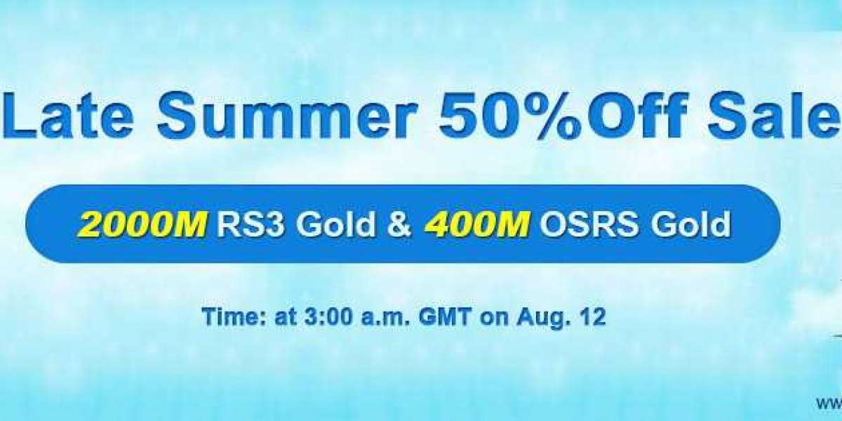 Up to 50% off runescape sell gold as 2020 Late Summer Sale!Can you Miss?
