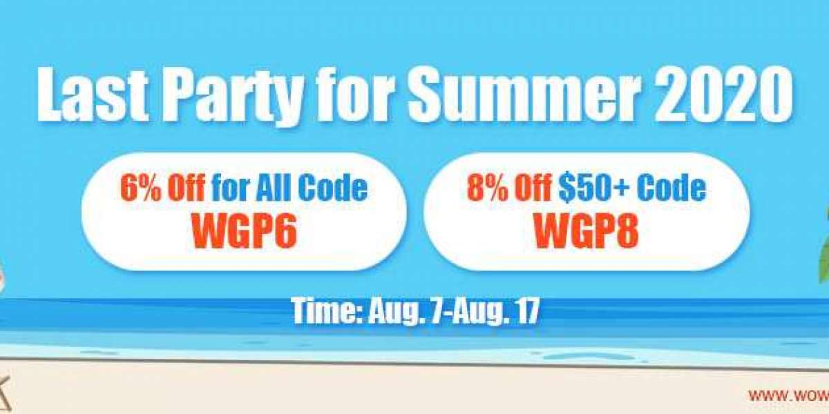 Up to 8% off wow classic golds as Last Party for Summer 2020 for All