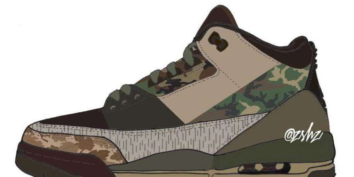 """New 2021 Nike Air Jordan 3 """"Camo"""" to release for Holiday"""